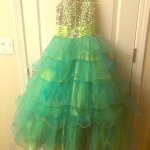 Beautiful Pageant Gown made for a Princess